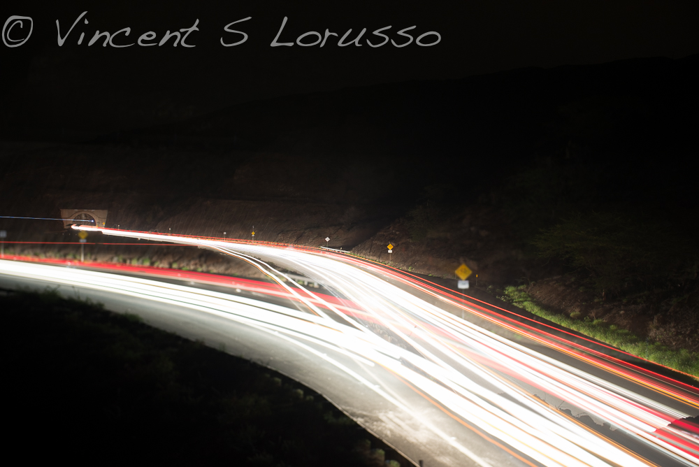 This is what happens when you fool around with your zoom during the 30 second exposure.