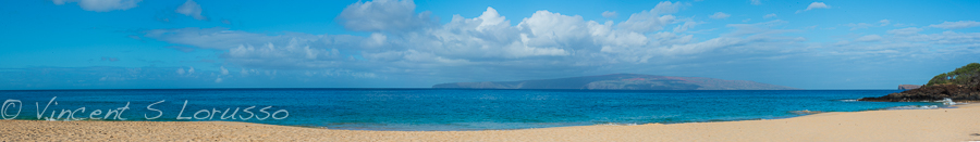 Big Beach panoramic.