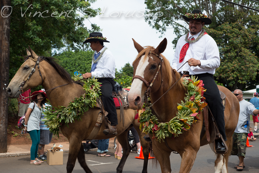 The horse leis were fantastic.