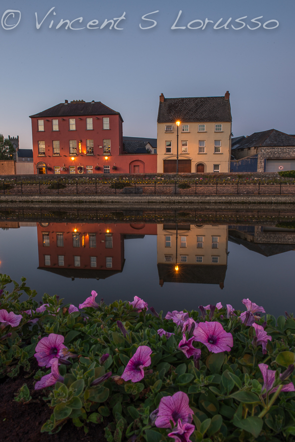 The River Nore at night.