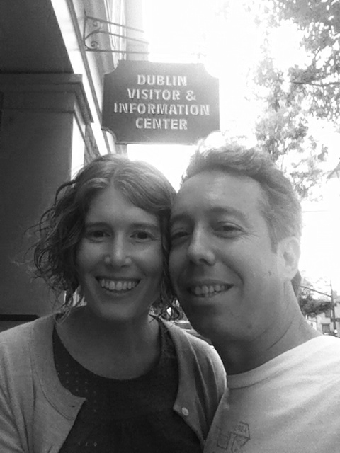 Emily and I in Dublin...Ohio.